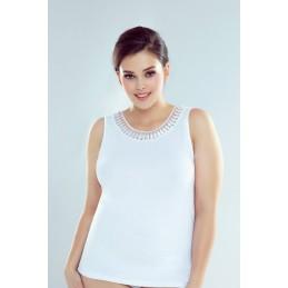 biały top koszulka XXXL z...